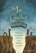 Photo of book Joy of Conflict Resolution